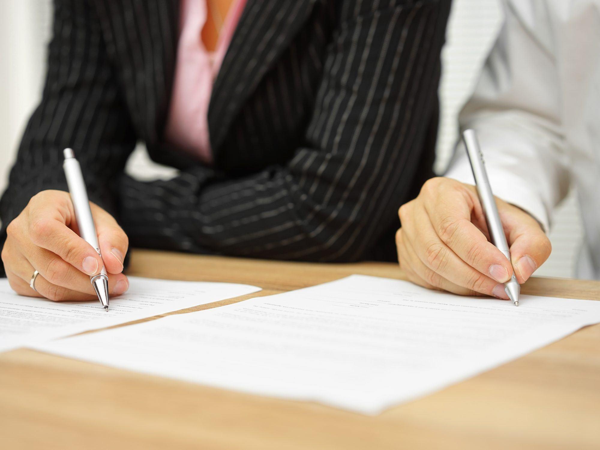 Wat is een echtscheidingsconvenant en wat zijn de kosten?