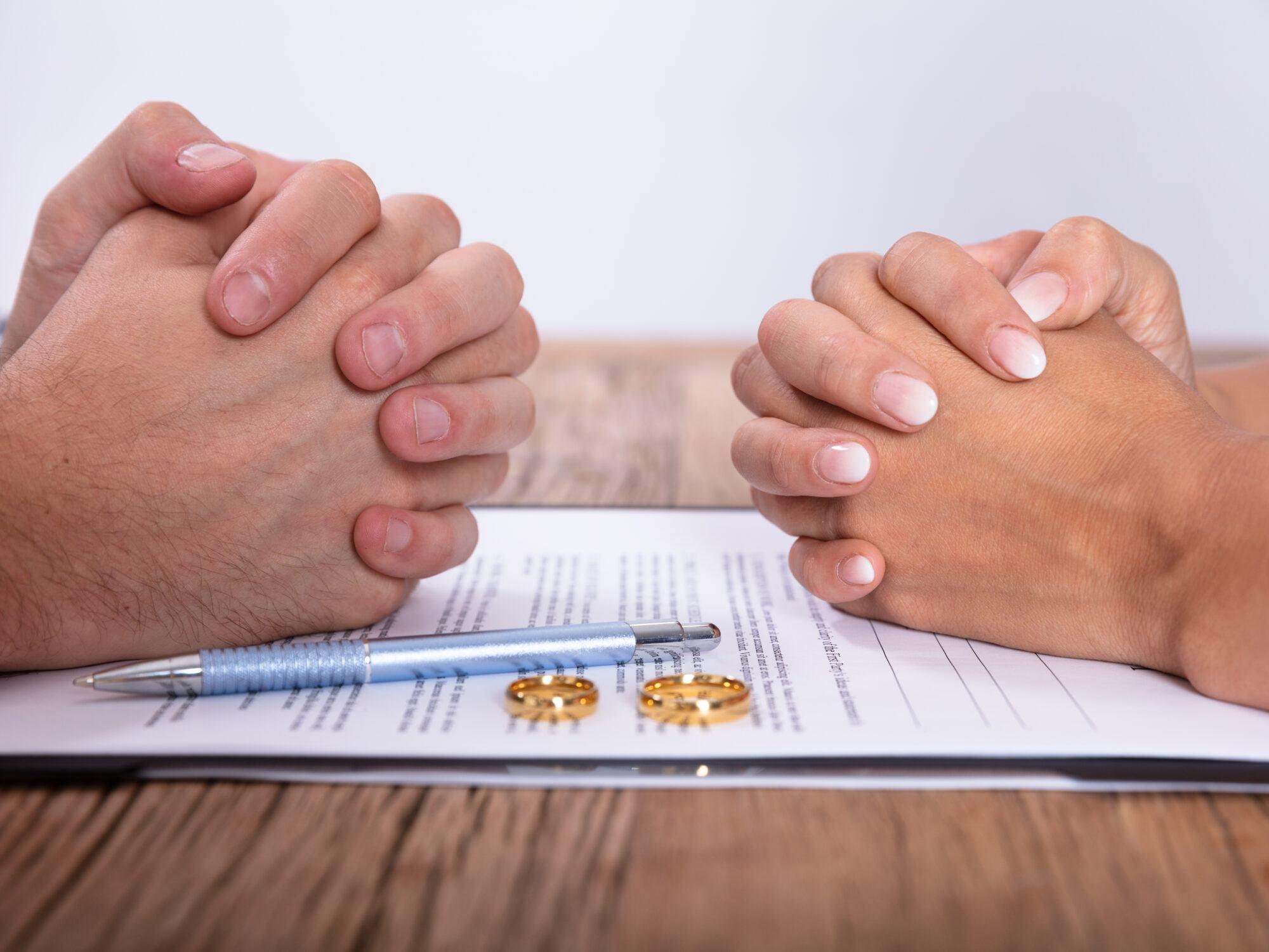 Wanneer officieel gescheiden?